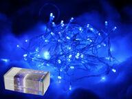 Sähkönsininen 80 LEDin valoketju