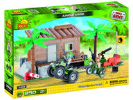 Cobi Small Army Jungle Base viidakkotukikohta (250 osaa)