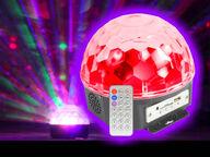 BEAMZ Taikasieni discovalo MP3-soittimella