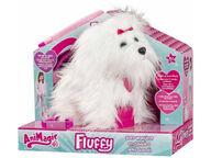 Animagic Fluffy Goes Walkies koiranpentu
