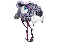 Crazy Safety pyöräilykypärä Purple Leopard