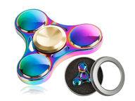 Metallinen crazy rainbow 3 spinneri