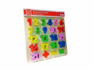 Värikkäät numerot -palapeli