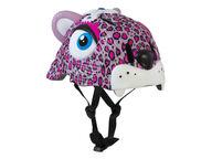 Crazy Safety pyöräilykypärä Pink Leopard