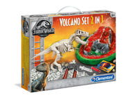 Clementoni Jurassic World Tulivuorisetti 2-in-1