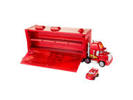 Disney Pixar Cars Mini Racer Mack Truck Transporter