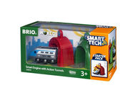 BRIO WORLD Smart tech -veturi ja tunnelit