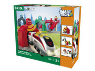BRIO WORLD Smart tech -setti ja tunnelit