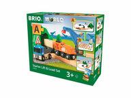 BRIO WORLD Lift and Load -aloitussetti