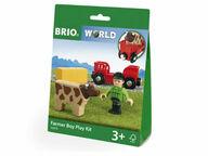 BRIO WORLD Maatilan poika -leikkisetti