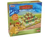 Leijonakaarti 3D Snakes & Ladders -peli