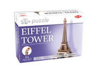 3D Palapeli Eiffel Tower, 84 palaa