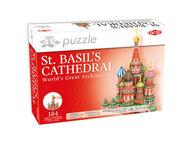 3D Palapeli Pyhän Vasilin katedraali, 160 palaa