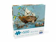 Mauri Kunnas Vasa-laiva, 500 palaa