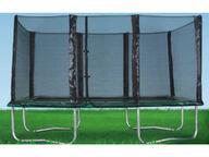 Jätti-iso trampoliini + turvaverkko (3 x 5 m)