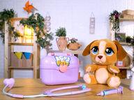 Cry Pets Deluxe Itkevä koirapehmo lääkärisetti