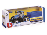 Bburago New Holland Traktori ja peräkärry