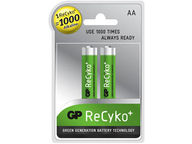 Recyko ladattavat AA-paristot (2 kpl)