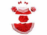 Punainen cheerleader-puku, 40 cm