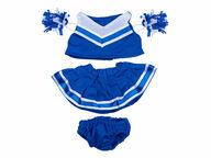 Sininen cheerleader-puku, 40 cm