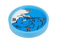 Smurffit seinäkello, sininen 25 cm