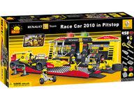 Cobi Renault F1-auton ja varikon rakennuspalikkasarja (450 osaa)