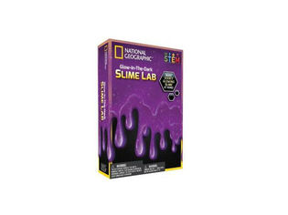 National Geographic Slime Science kit Purple