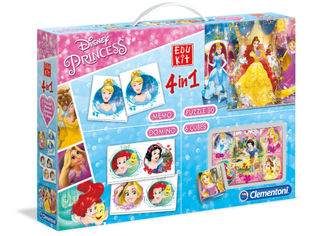 Disney Prinsessat 4 in 1 -pelisetti