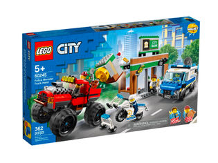 Lego City Police 60245 Ryöstö monsteriautolla