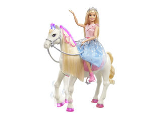 Barbie Princess Adventure -nukke ja hevonen