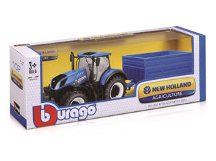 Bburago New Holland Traktori ja peräkärry