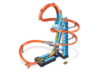 Hot Wheels Sky Crash Tower -autoratasetti