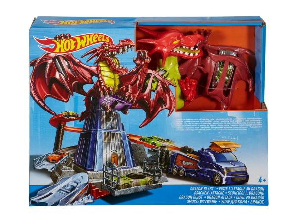 Hot Wheels Dragon Smash Showdown