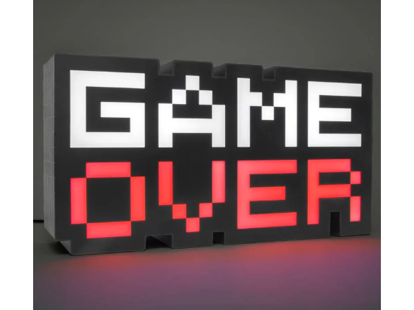 Game Over -retrovalaisin